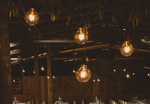 Wedding lighting for hire