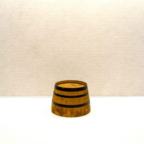 Wine Barrel side table or frinks holder