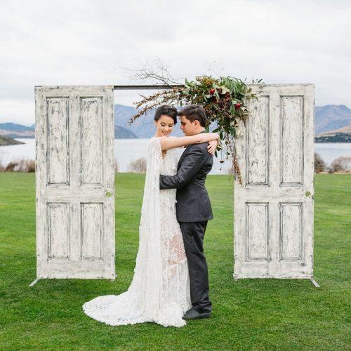 Wedding doors for hire. Wanaka Dreams
