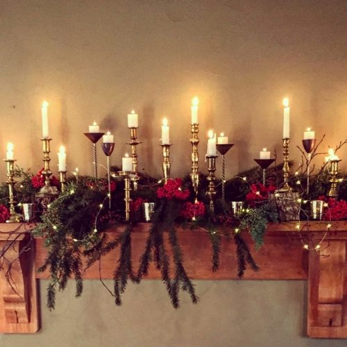 Brass Candle Holders for hire